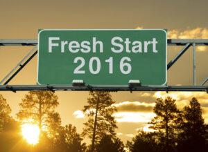 Fresh start 2016