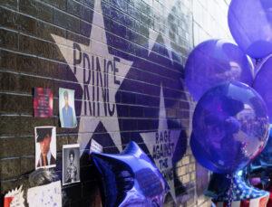 Prince - Memorial Wall
